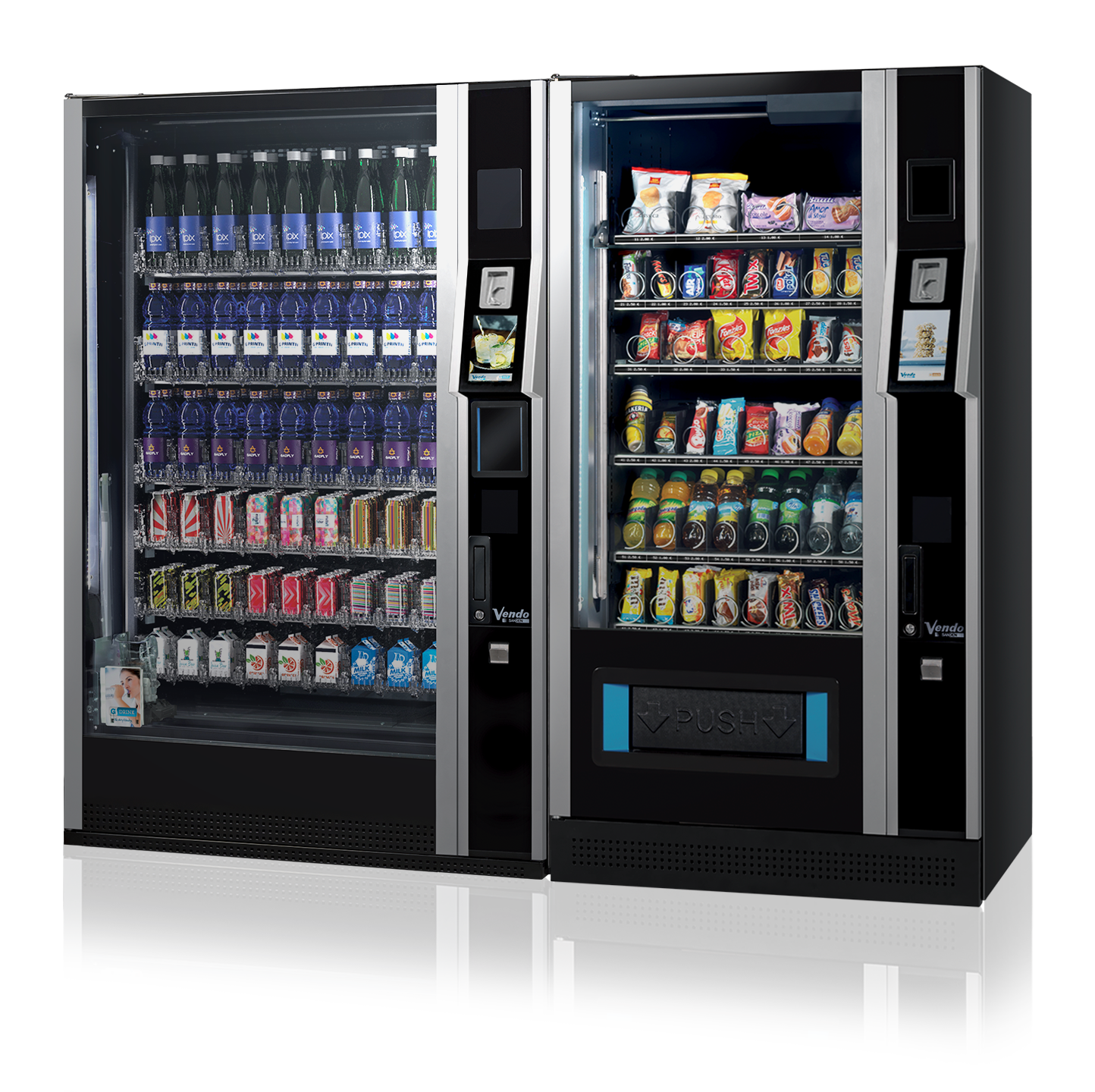 Vending services from Intelfoods